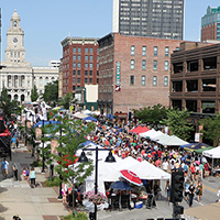 Des Moines Downtown farmers market